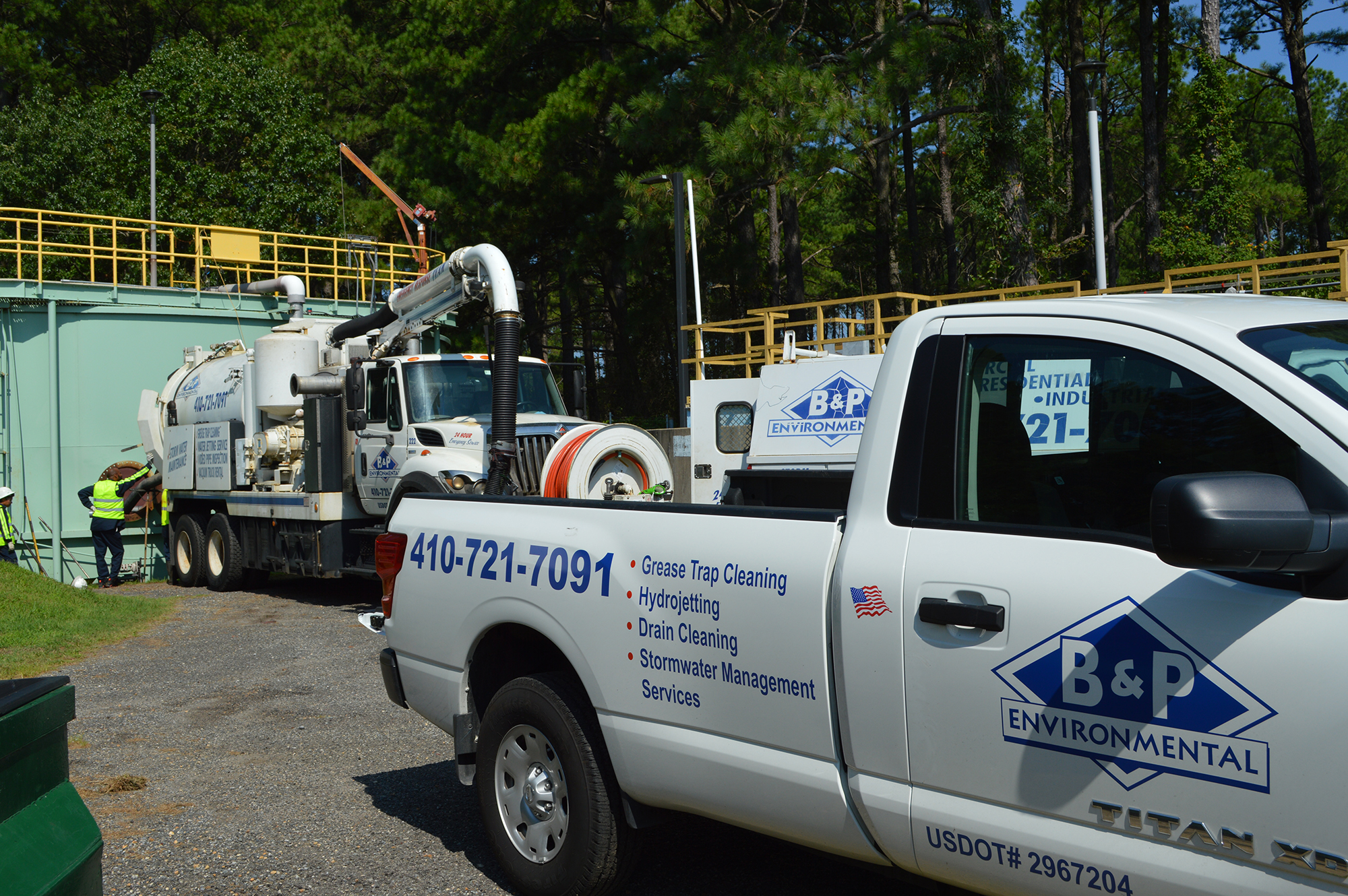 b and p environmental fleet